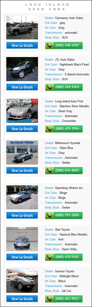 Long Island Car Dealer