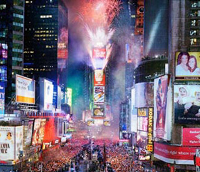 New years events to attend in times square new york for Activities in times square