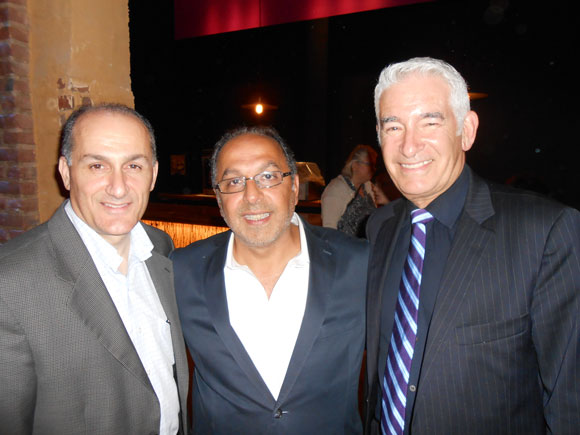 Peter Cacallaro, Cyrus Hakakian and Bruce Michael
