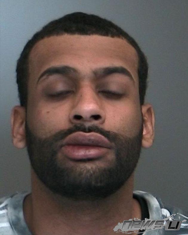 Cops: Stop Sticks Deployed on Amityville Man, Wymann Wiggins, 26, After Fleeing Police, Striking Police Car