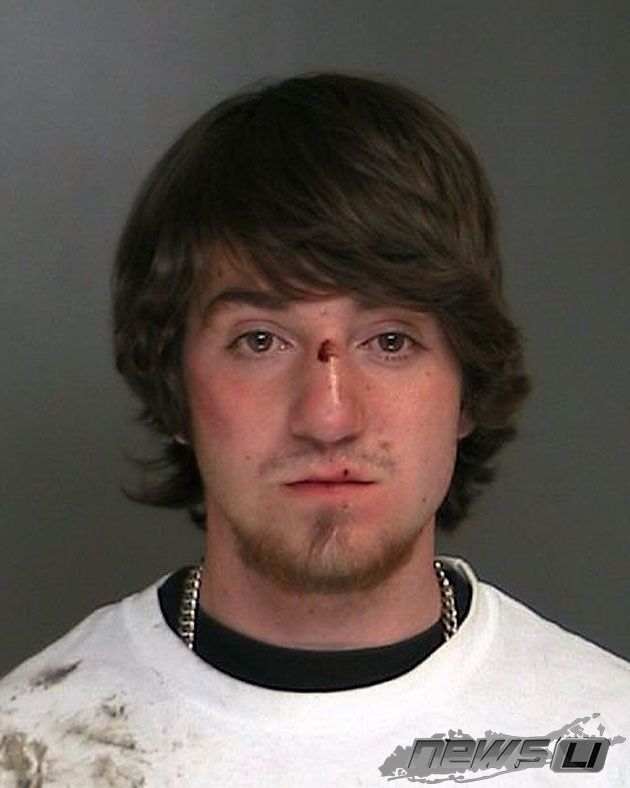 Port Jeff Man, Gerard Tegins, 20, Charged for DWI After Crashing SUV Into Living Room of Home in Miller Place