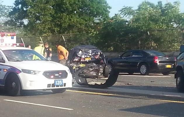 Scpd North Lindenhurst Motor Vehicle Crash Leaves Three