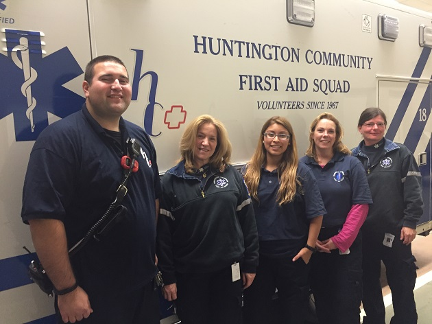 Baby on the Way: HCFAS Volunteers Deliver Baby Girl in Ambulance
