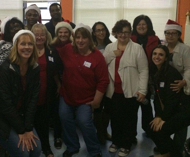 Catholic Health Services Staff Deliver Christmas Cheer to Long Island Families