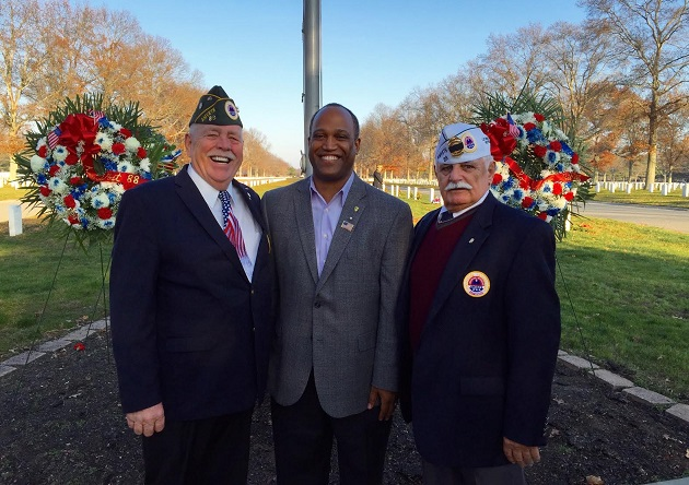 Gregory Joins AMVETS in Remembering Pearl Harbor