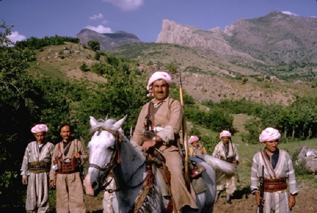 Mustafa Barzani Leader. Photo Source.
