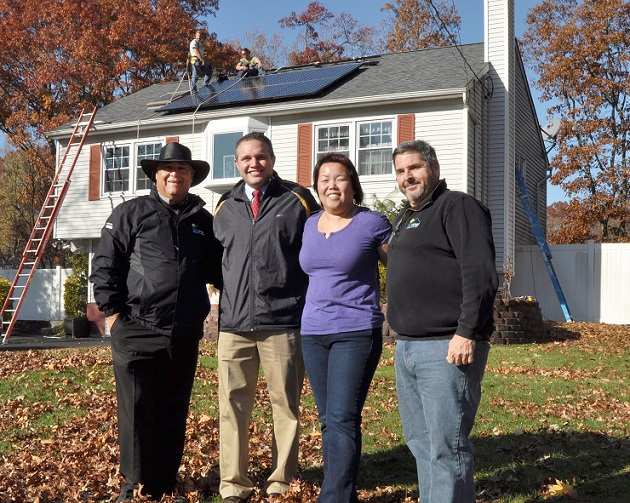 Town of Brookhaven's First 'Solarize Brookhaven' Project Successfully Installed by SUNation Solar Systems
