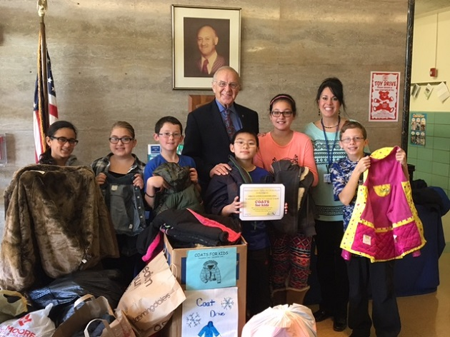 McDonough Announces Overwhelming Success Of 2015 Coats For Kids Campaign