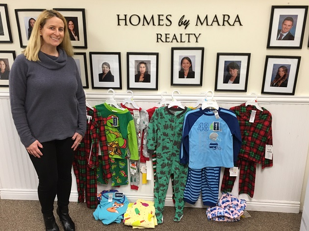 Homes By Mara Realty of Syosset Warms Hearts of Children with Chronic Illness Through Participation in The Ashley Wade Foundation Jake's Jammies Drive