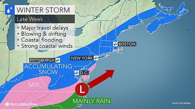 Significant snowfall will impact Virginia Friday and Saturday