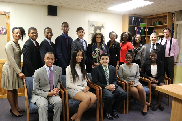 Assemblywoman Solages Honors Elmont Student Excellence