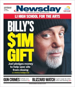 A recent Newsday cover.