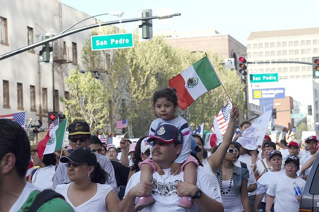 Immigrants Rally as Supreme Court Hears Case