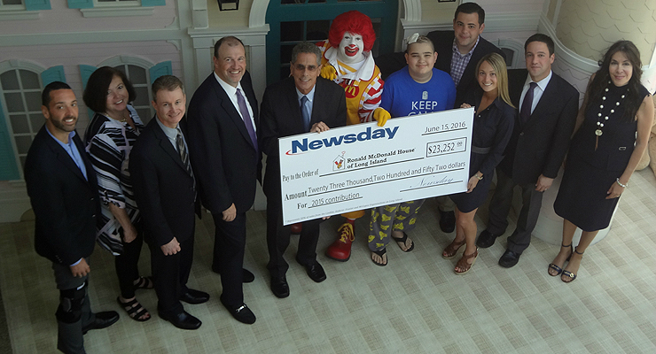 Long Island Ronald McDonald House, Newsday Celebrate 25 Years of Helping Families In Need