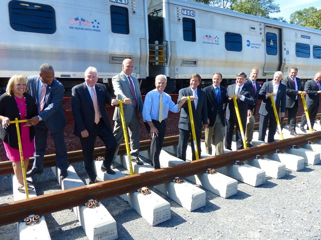 Governor Cuomo Announces Completion of New Track Laying Between Central Islip and Ronkonkoma for LIRR Double Track