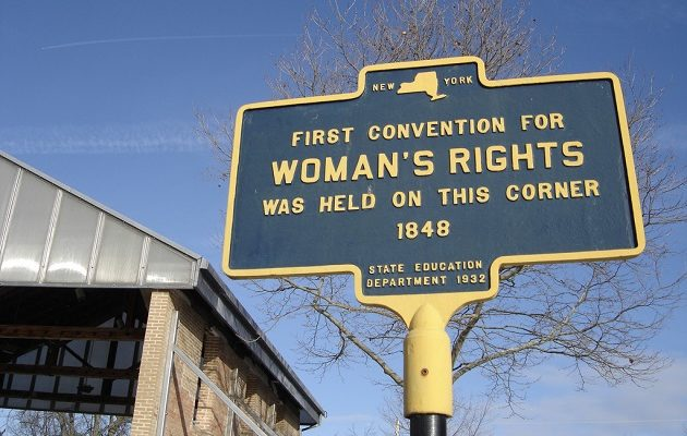 the incepotion of womens suffrage movement in new yok The women of new york gained the right to vote 100 years ago  city's  widespread identity as a linchpin of the women's suffrage movement,.