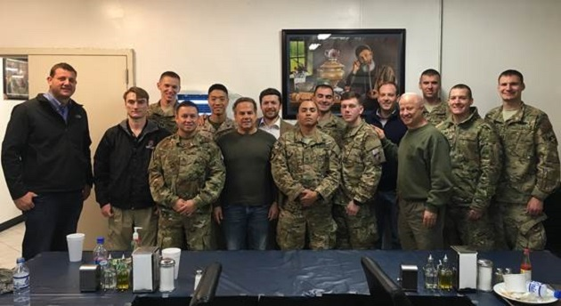 Rep. Zeldin in Middle East Visiting Troops For 2nd Straight Year During Holidays