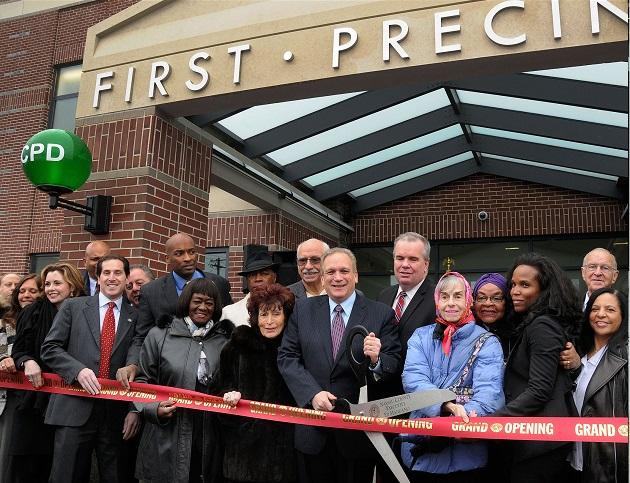 Mangano Opens New First Precinct In Baldwin