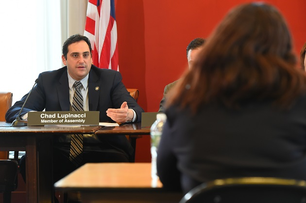 Lupinacci Partakes In Interviews Of New State Regents Candidates