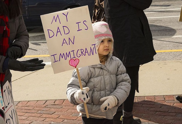Advocates Rally at Immigration Detention Center