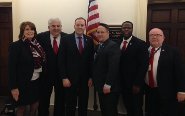 Rep. Zeldin Meets in DC with Leadership from the Long Island State Vets Home