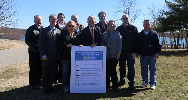 Bellone Announces Funding for Wastewater Infrastructure Upgrades at Lake Ronkonkoma County Park