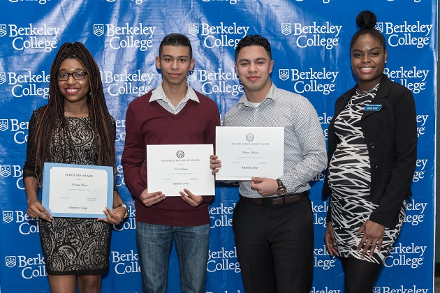 Suffolk County High School Seniors Awarded Berkeley College Scholarships