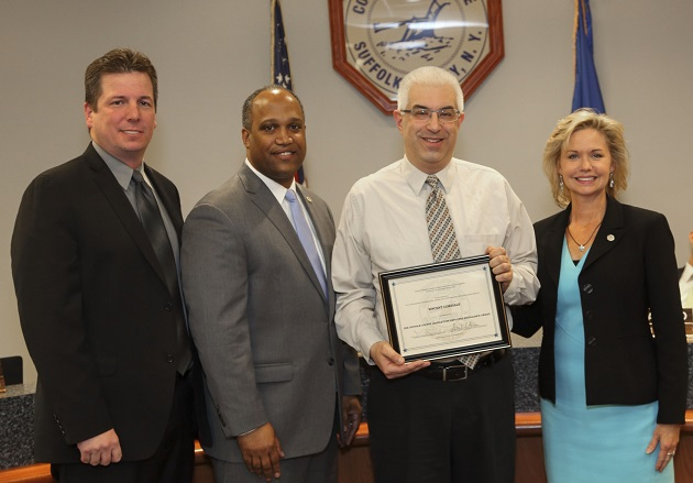 Legislature Honors Vincent Cordiale with Employee Excellence Award