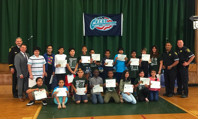 Sheriff DeMarco Honors G.R.E.A.T. Students