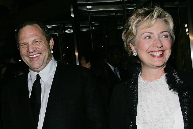 Hillary Clinton Waited Five Days to Denounce Weinstein; Will Give Campaign Donations to Charity