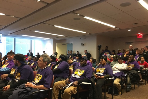 Airport Workers to Port Authority: Keep Your Promise