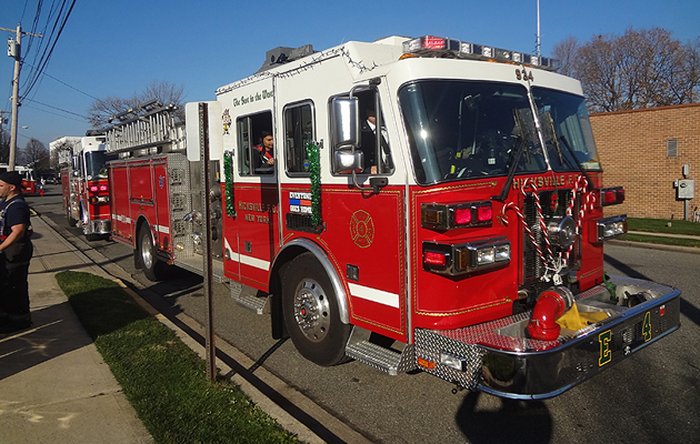 Hicksville FD Holds Annual Open House; Teaches Home Safety for the Holiday Season
