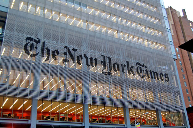 NYT: Traditional Media Survival Dependent on Google, Facebook's Massive Influence, Algorithms, Cooperation