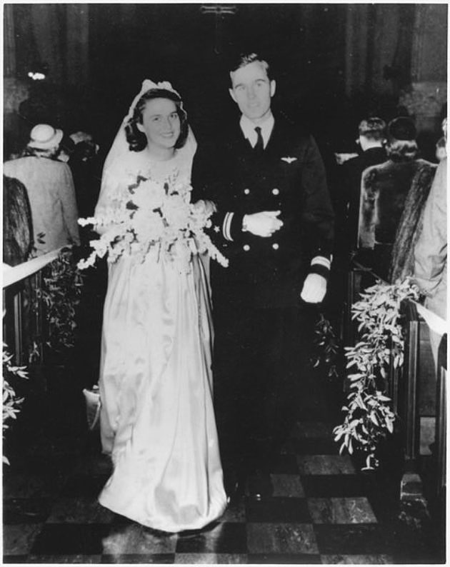 George and Barbara Bush Wedding