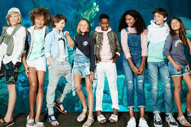 "HOLY SMOKES: Abercrombie Launches Genderless ""Everybody Collection"" Fashion Line for Children"