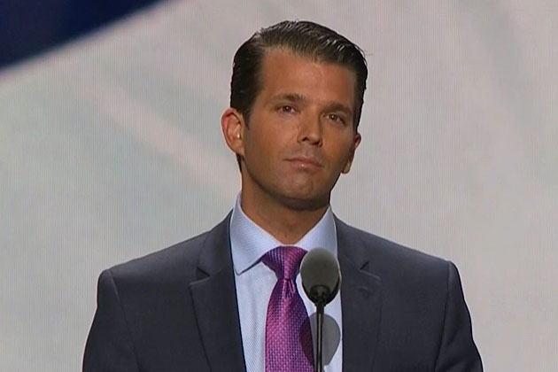Trump Jr: Democrats Screwed for '18; What Are They Running On? The Economy? Jobs? They've Got Nothing