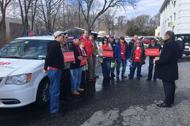 AARP Volunteers Hit Road, Urge Long Island Senators to Pass Proposal to Help New Yorkers Save at Work