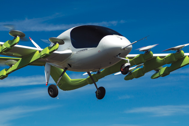 Meet Cora, a Self-Piloted Aircraft; It's Like the New Uber