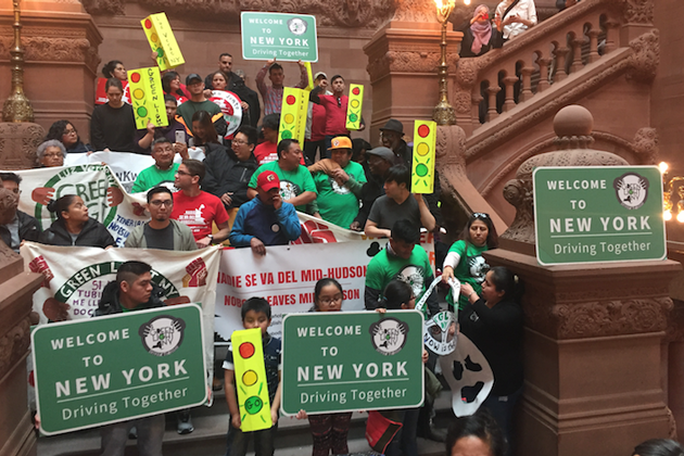 Immigrants' Advocates Push for Passage of Bill That Would Allow Illegals New York State Driver Licenses