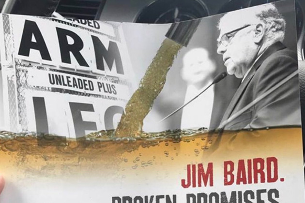 Crossing the Line: Political Ads Attacking Candidate Jim Baird Who Lost Arm in Vietnam War Sinks to New Low