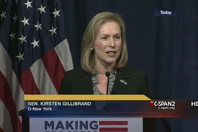 VIDEO: Gillibrand Says When Dems Gain Control, First Thing to Do Is Get Rid of Immigration Enforcement