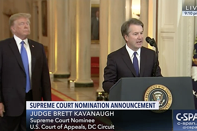 Schumer Panicking Over Trump's Supreme Court Nominee