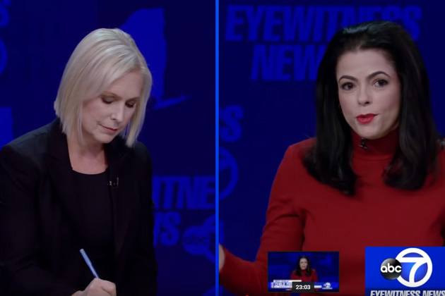 WATCH: Senate Debate Between NY Senator Kirsten Gillibrand and Republican Rival Chele Farley