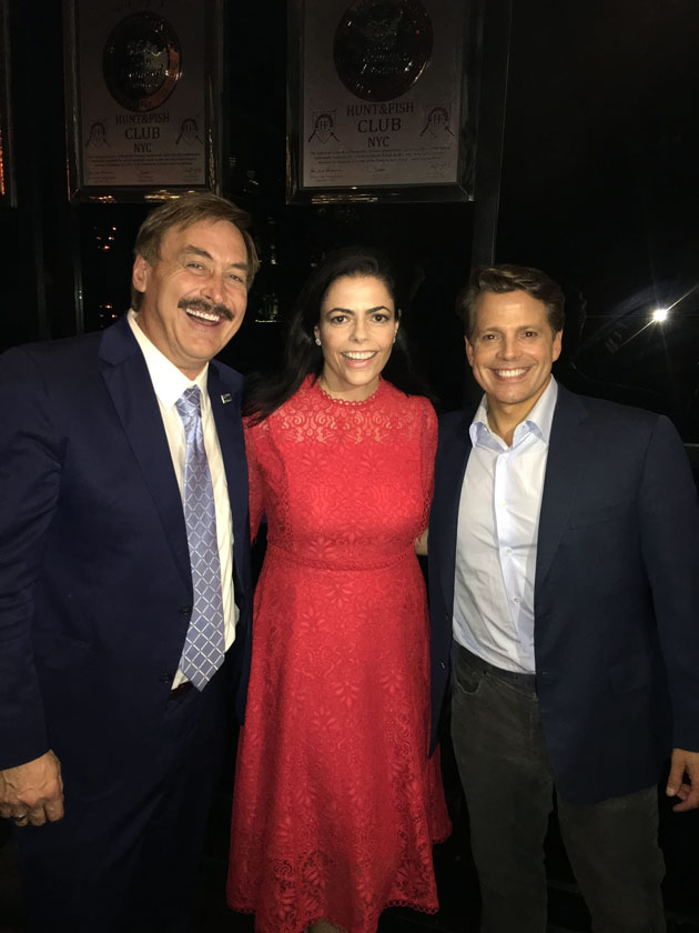 Chele Farley MyPillow Lindell Anthony Scaramucci