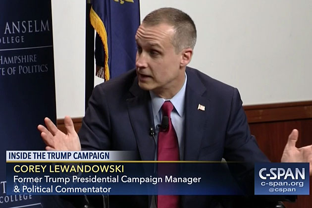 Corey Lewandowski: Leading the Fight Against President Trump's Enemies