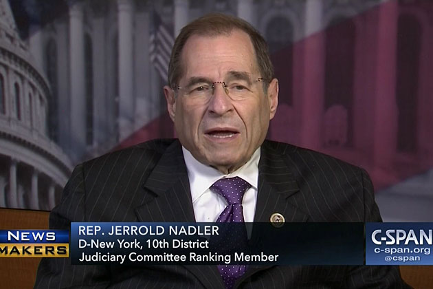 Nadler: New Evidence from Michael Cohen Suggests Impeachable Offense Could Indict President Trump