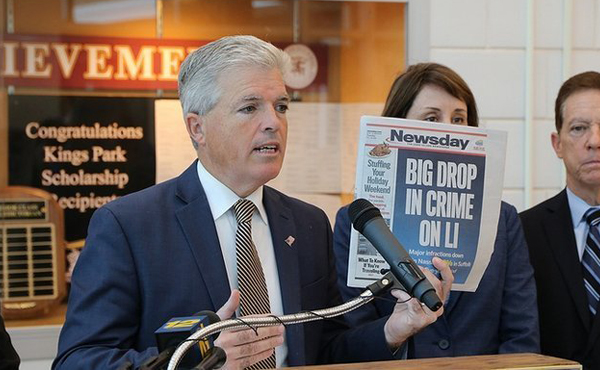 Suffolk County Executive Bellone Announces Launch of Online Police Reporting System