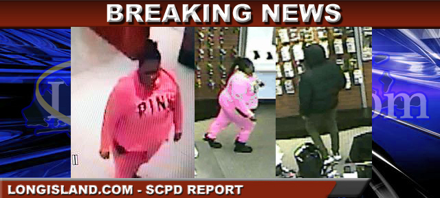 Man, Woman Wanted by Suffolk Authorities for Stealing Cell Phone, Wallet in Commack